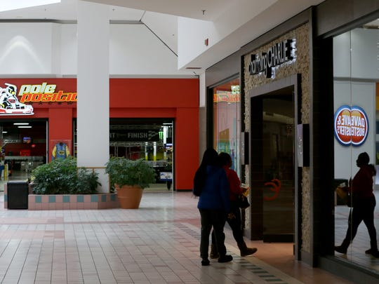 Entertainment destinations like Dave and Busters and Pole Position Raceway have taken over former retail space in the Marketplace Mall.