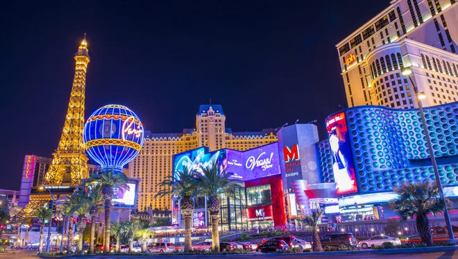 Las Vegas was the fourth most booked domestic destination in 2017, according to Expedia. The Las Vegas Strip is an approximately 4.2-mile stretch of Las Vegas Boulevard.