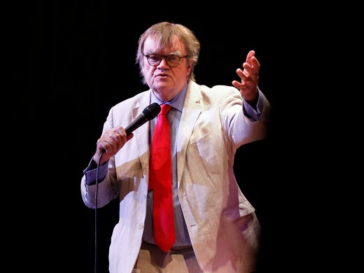 Garrison Keillor, author and retired star of 'A Prairie
