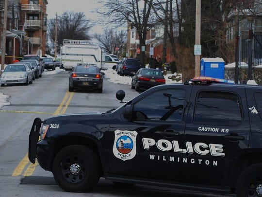City police are investigating a homicide this afternoon in the 500 block of N. Rodney St.