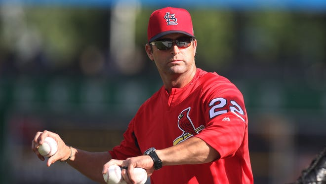 Mike Matheny has been fired as manager of the St. Louis Cardinals.