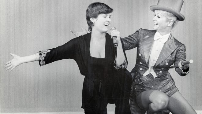 No ordinary mother and daughter, Carrie and Debbie were best friends.