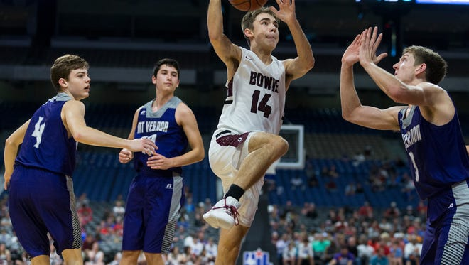 Bowie's Justin Franklin joined Daniel Mosley as Class 3A all-tournament selections.
