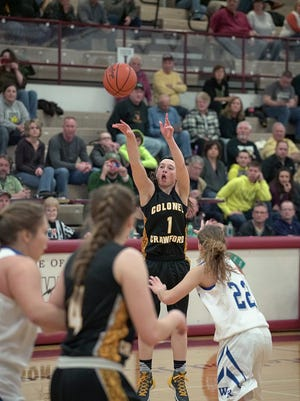 Alexus Burkhart will be one of the key players for the Lady Eagles this season.