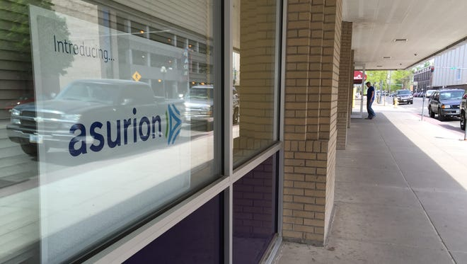 Asurion will close its downtown Great Falls operation, which employs 348 people, in August.