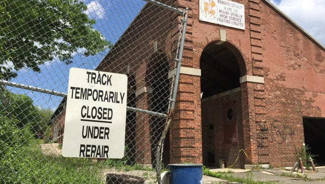 Memorial Field remains closed and in a state of disrepair.