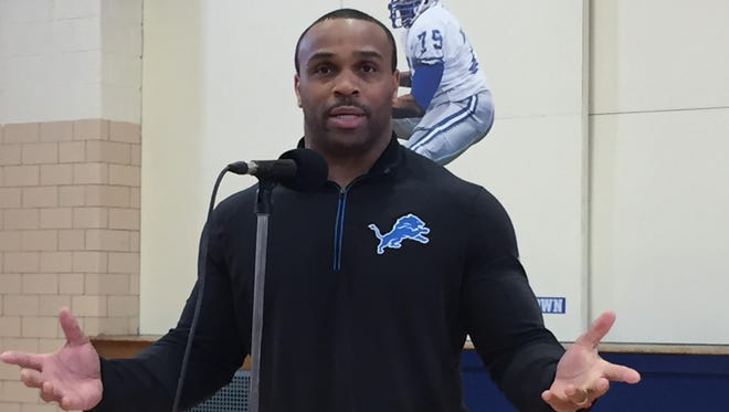 New Lions strength coach Harold Nash Jr.