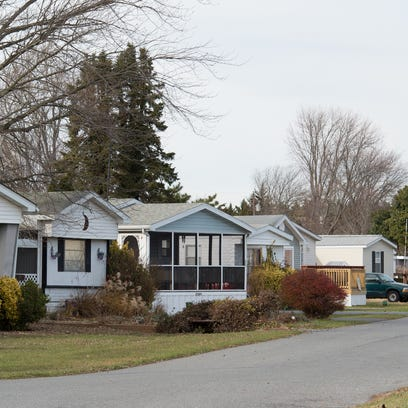Rehoboth Bay mobile home community.