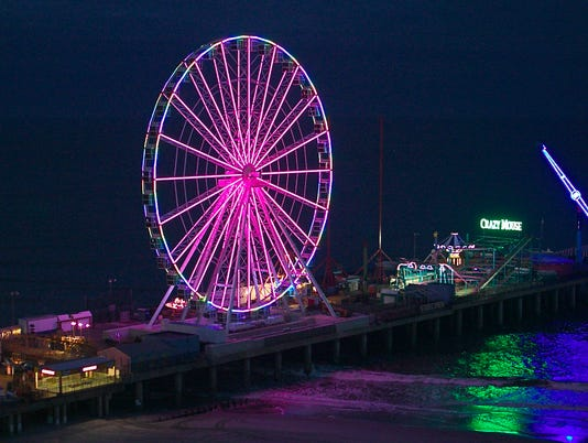 The Wheel on Steel Pier