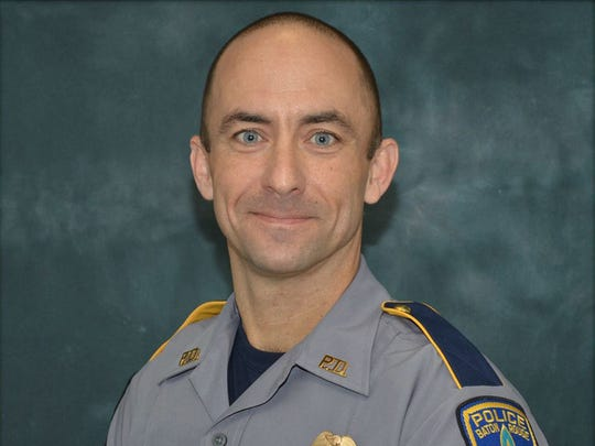 Baton Rouge Police officer Matthew Gerald, 41, was killed by a gunman.