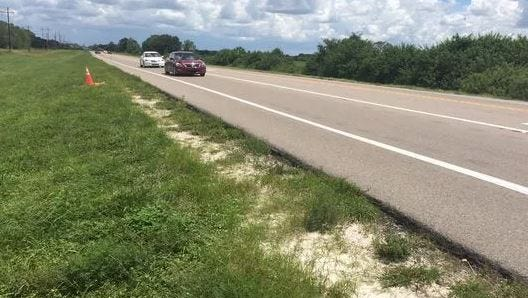 Reconstruction of SR 82 will mean some lane shifting, but the project will also include some below-the-surface work aimed at improving stormwater drainage