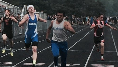 Wynford's Alizhah Watson heads into the regionals as a district champ in the 100 and 200.