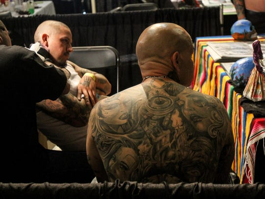 The Visionary Tattoo Arts Festival, pictured in 2014, returns to Convention Hall in Asbury Park this weekend.