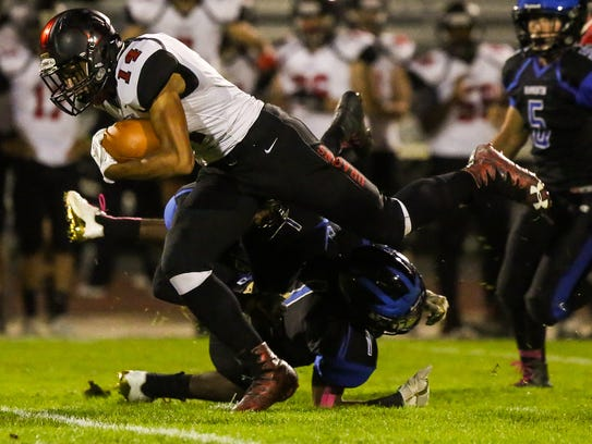 Kingsway tangles with Hammonton, scoring its first
