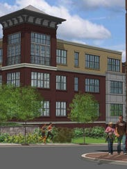 Rendering of the 108-unit Quarry Place, which is under