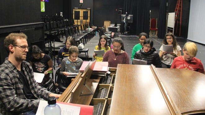Over the last few months, students in the Wharton Institute for the Performing Arts (WIPA) Musical Theater Company have been writing their own full length musical using stories from the Grimm Brothers. The musical will be showcased in two performances on June 9 in Wharton's black box theater.