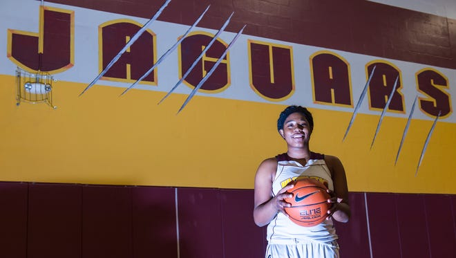 Washington High's Danasia Roberts is taking the Bayside by storm as a freshman, putting up 40 points and 30 rebounds agianst North Dorcester in the Crisfield Holiday Tournament.