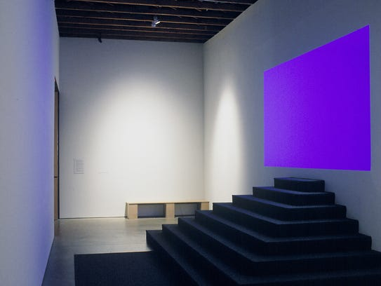 From the 2001 installation, James Turrell: Infinite