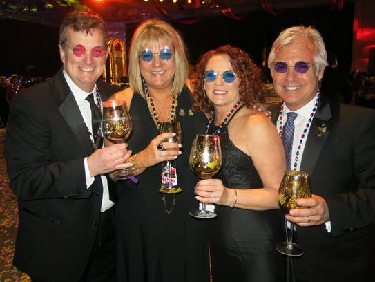 Cliff and Donna Poimbeau, Richea Corbin and hubby,