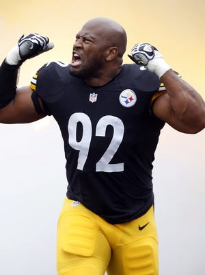 Steelers linebacker James Harrison wrote on his Instagram account that he is taking away participation trophies awarded to his two sons — ages 8 and 6 — until they 'EARN a real trophy.'
