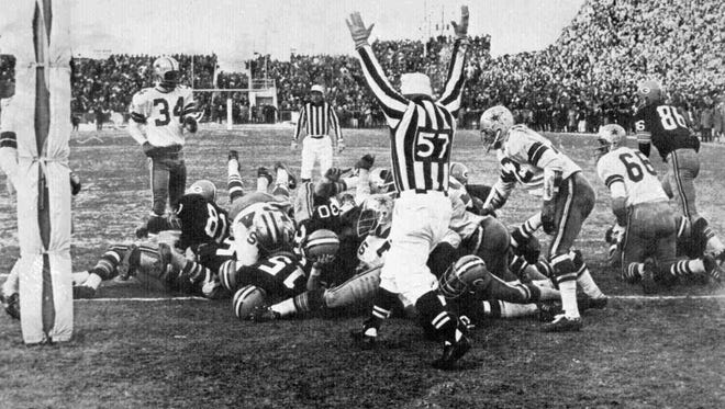 When Green Bay hosts the Dallas Cowboys in the NFC divisional round Sunday, it will be a rematch of the 1967 NFL Championship Game.