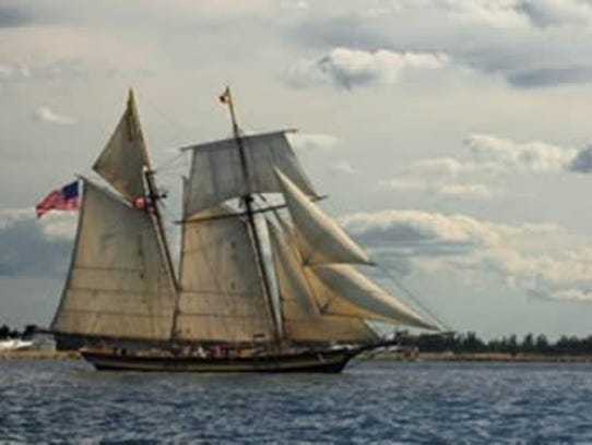 Depiction of Pride of Baltimore II