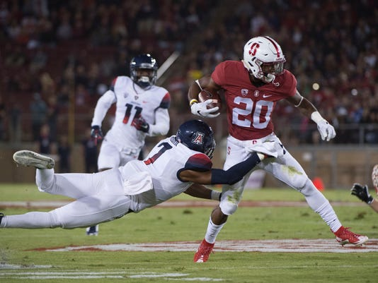 NCAA Football: Arizona at Stanford