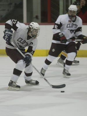 Anthony Yelovich (left) starred on the Clifton hockey team before graduating in 2006.