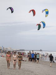 Kiteboarding is one of the msany events slated for this weekend's Beaches N Boards Festival in Cocoa Beach.