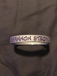 """Shannon Strong"" bracelets have been produced by Smyrna"