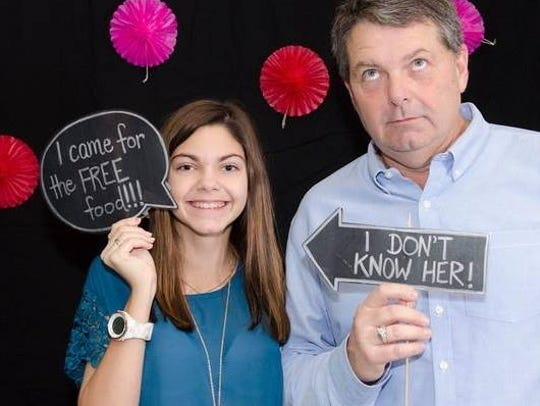 Alyssa Carson and her father, Bert Carson, share a