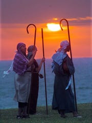 Caller-Times file The Easter Sunrise Passion Play will host its 74th annual production of the life, death and resurrection of Jesus on Easter Sunday at Cole Park.