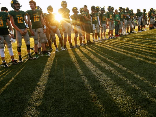 The first high school football games of the season will be played on Friday throughout the state.