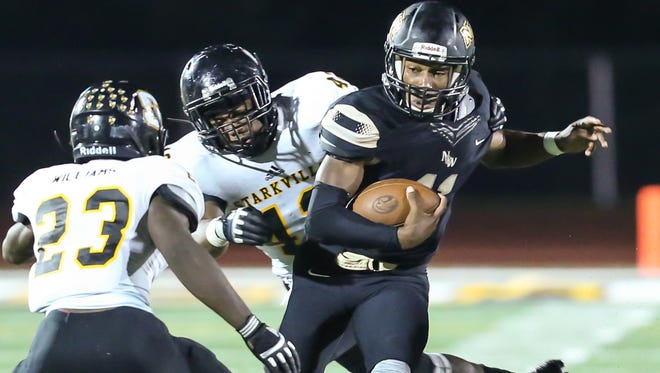 Quarterback Braden Smith and Northwest Rankin travel to Callaway on Thursday in a battle of 5-2 teams.