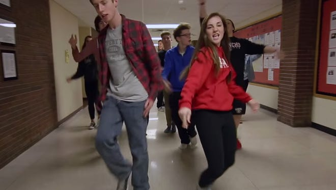 At 3 a.m. on February 21, students at Lafayette Jefferson High School hit a stroke of creativity, and decided to film a lip sync music video to the song Uptown Funk during an annual lock-in.