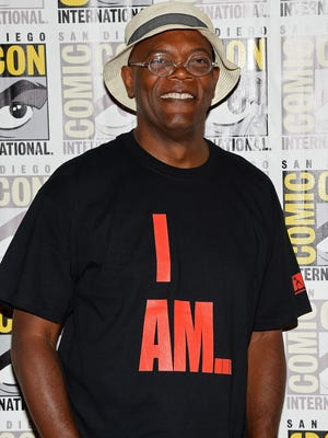 Samuel L. Jackson loves comic books, video games and playing Nick Fury on the big screen.