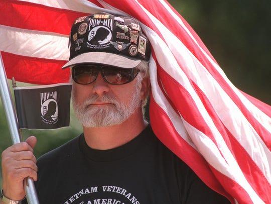 1995 file photo: Vietnam veteran Mike Skowronski was