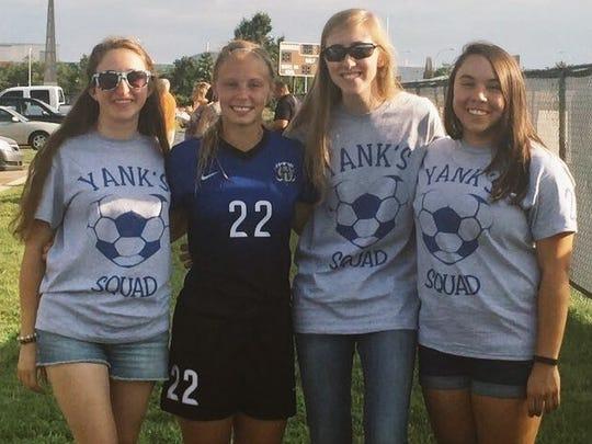 Lindsay Yankasky's informal fan club -- Yank's Squad