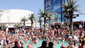 The 22,000-square-feet and two pools of Marquee Dayclub at The Cosmopolitan are often the spot to see and be seen during the summer, when celebrities like to hang out in the posh cabanas.