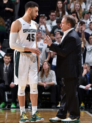 Denzel Valentine and Tom Izzo will need some help from other teams if Michigan State is going to win the Big Ten regular-season title.