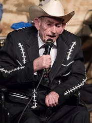 D. L. Menard, who died in July, performed at the Tribute