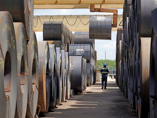 AP TRUMP STEEL TARIFFS A FILE USA TX