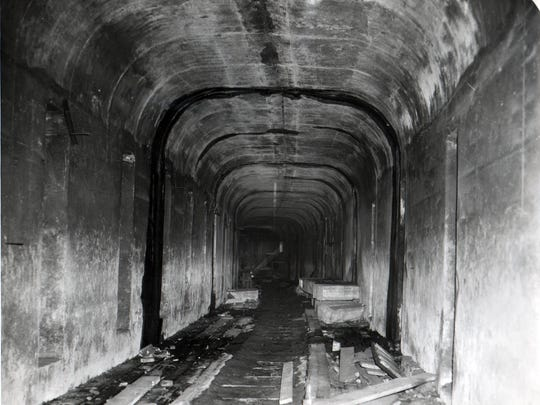 FEBRUARY 18, 1951: Cincinnati Subway The Enquirer/Herb