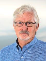 "David Harmon, co-author of ""Train Wreck Earth."""