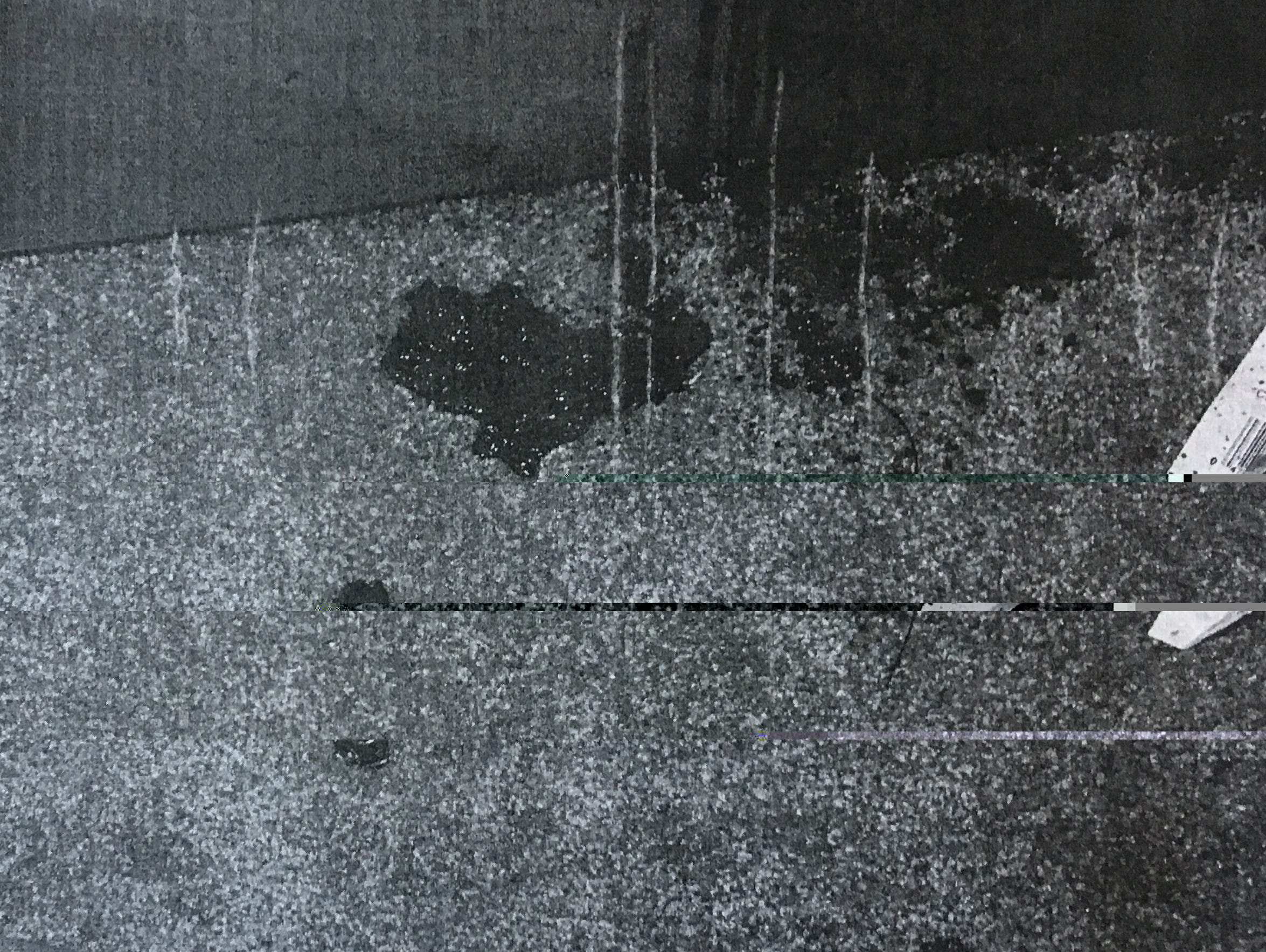 A blood-spatter analysis by the Missouri State Highway