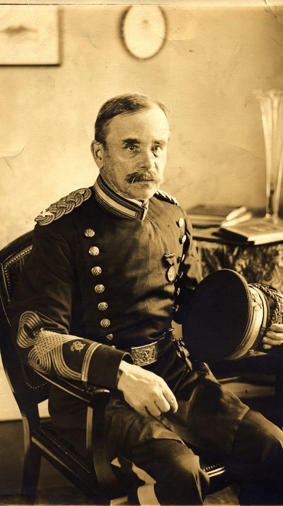 George Ruhlen, architect of Fort Bliss.
