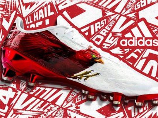 New Cardinal bird Adidas cleat