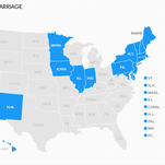 Same-sex marriage landscape changing across U.S.