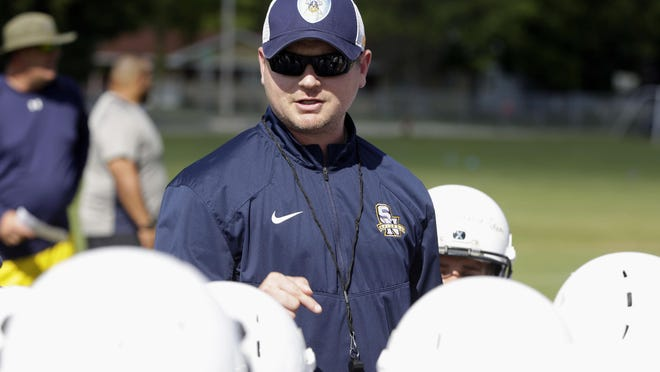 """Chris Zablocki has been at two schools in the past four years but is hoping Sheboygan Falls is """"the one"""" after being named coach Friday."""