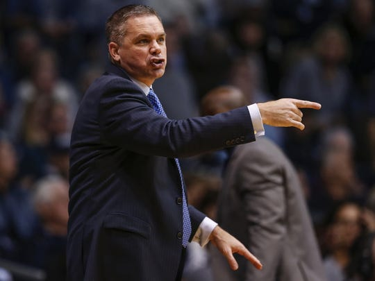 Chris Holtmann has the Bulldogs on the verge of a top-four